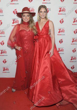 Shania Twain and Sara Haines