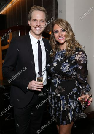 Chris Geere and Jennifer Sawdon