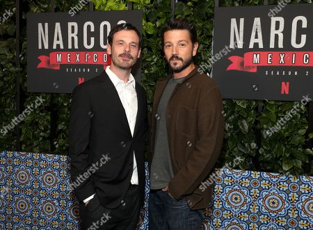 Scoot McNairy and Diego Luna
