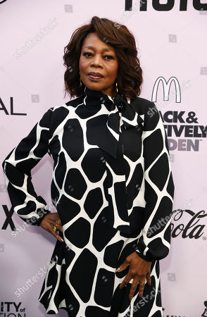 Alfre Woodard poses at the 13th Annual ESSENCE Black Women in Hollywood Awards Luncheon, in Beverly Hills, Calif