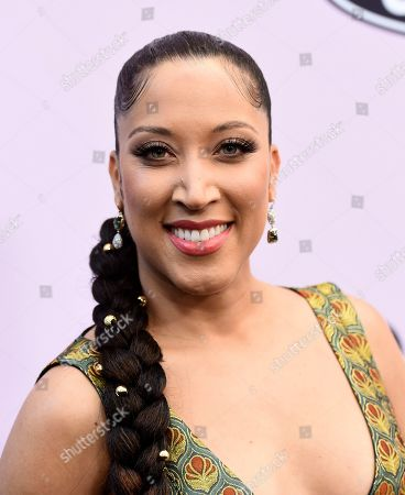 Robin Thede poses at the 13th Annual ESSENCE Black Women in Hollywood Awards Luncheon, in Beverly Hills, Calif