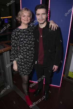 Sarah Woodward (Hannah) and Oliver Johnstone (Neil)
