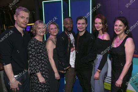 Al Blyth (Author), Sarah Woodward (Hannah), Lucy Black (Denise), Enyi Okoronkwo (Zef), Oliver Johnstone (Neil), Rona Morison (Cora) and Roxana Silbert (Director)