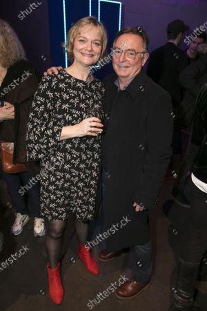 Sarah Woodward (Hannah) and Ron Cook