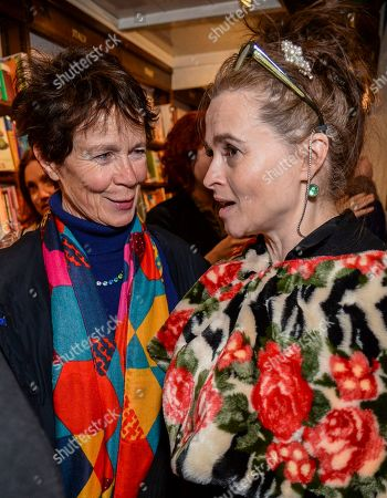 Celia Imrie and Helena Bonham Carter