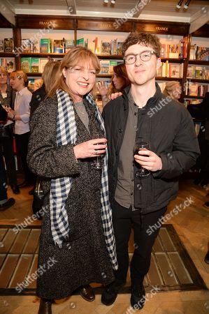 Janet Ellis and son Jackson Ellis-Leach