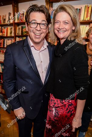 Michael McIntyre and Sophie Ward