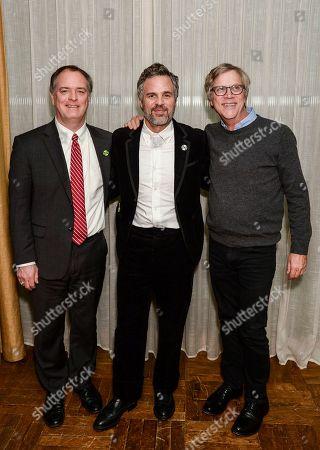 Stock Photo of Robert Bilott, Mark Ruffalo and Todd Haynes