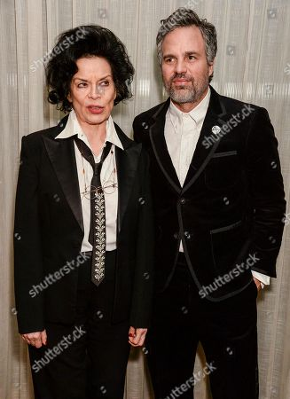 Bianca Jagger and Mark Ruffalo