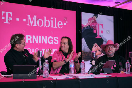Editorial photo of T-Mobile | Q1 2020 Earnings Call, Bellevue, USA - 06 Feb 2020