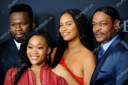 50 Cent, Tyla Harris, Joy Bryant and Isaac Wright Jr.
