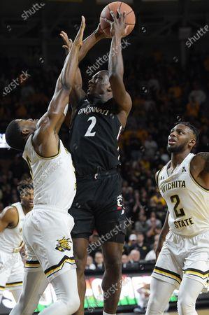 Editorial picture of NCAA Basketball Cincinnati vs Wichita State, USA - 06 Feb 2020