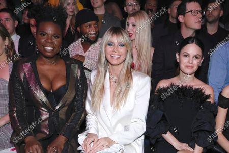 Editorial image of Christian Siriano show, Front Row, Fall Winter 2020, New York Fashion Week, USA - 06 Feb 2020