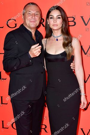 Jean-Christophe Babin and Lily Aldridge