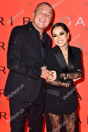 Jean-Christophe Babin and Becky G