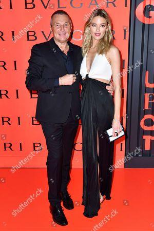 Jean-Christophe Babin and Martha Hunt