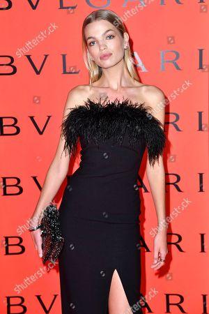 Editorial image of Bvlgari x B.Zero1 Rock Collection debut party, Fall Winter 2020, New York Fashion Week, USA - 06 Feb 2020