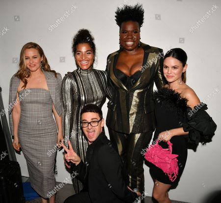 Editorial image of Christian Siriano show, Backstage, Fall Winter 2020, New York Fashion Week, USA - 06 Feb 2020