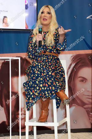 Stock Photo of Tori Spelling