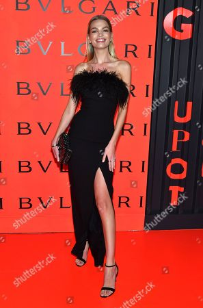 Editorial photo of Bvlgari x B.Zero1 Rock Collection debut party, Fall Winter 2020, New York Fashion Week, USA - 06 Feb 2020