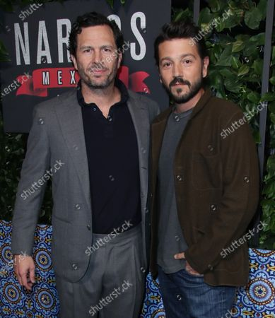Eric Newman and Diego Luna