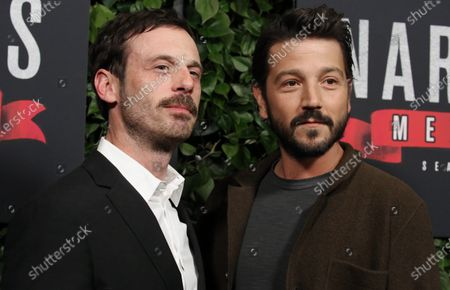 Stock Photo of Scoot McNairy and Diego Luna