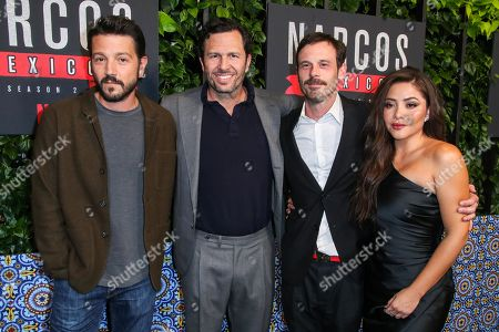 Editorial picture of 'Narcos: Mexico' TV show Season 2 Special Screening, Arrivals, Netflix Home Theater, Los Angeles, USA - 06 Feb 2020