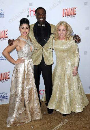 Pamela Price, Danielle Lauder, Otis Stokes. Pamela Price, from left, Otis Stokes and Danielle Lauder arrive at the 6th Annual Hollywood Beauty Awards at the Taglyan Complex, in Los Angeles