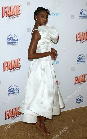 Kiki Layne arrives at the 6th Annual Hollywood Beauty Awards at the Taglyan Complex, in Los Angeles