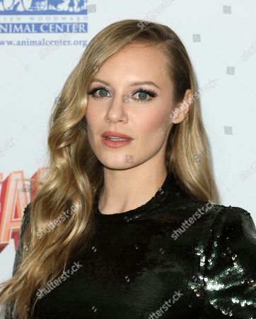 Danielle Savre arrives at the 6th Annual Hollywood Beauty Awards at the Taglyan Complex, in Los Angeles
