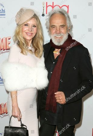 Stock Picture of Tommy Chong, Shelby Chong. Shelby Chong, left, and Tommy Chong arrive at the 6th Annual Hollywood Beauty Awards at the Taglyan Complex, in Los Angeles