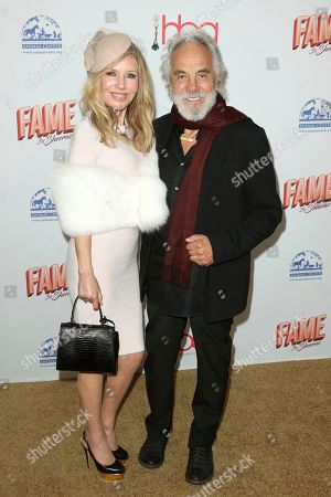 Tommy Chong, Shelby Chong. Shelby Chong, left, and Tommy Chong arrive at the 6th Annual Hollywood Beauty Awards at the Taglyan Complex, in Los Angeles