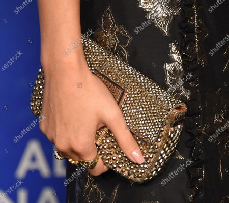 Jessica Gomes, bag detail