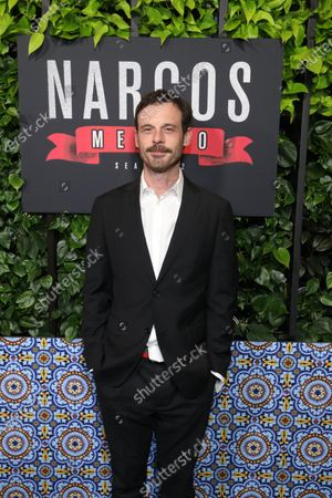Scoot McNairy arrives on the red carpet prior to a special screening of Netflix's 'Narcos: Mexico Season 2' at the Netflix Home Theater in Los Angeles, California, USA, 06 February 2020.