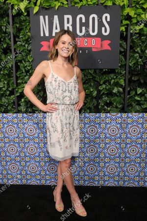 Sosie Bacon arrives on the red carpet prior to a special screening of Netflix's 'Narcos: Mexico Season 2' at the Netflix Home Theater in Los Angeles, California, USA, 06 February 2020.