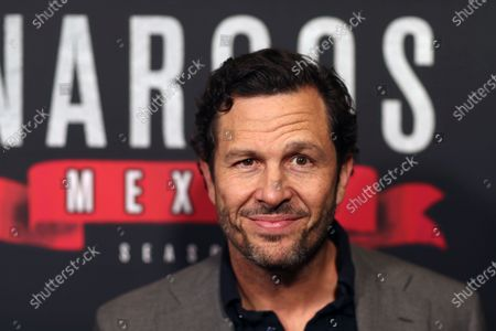 Eric Newman arrives on the red carpet prior to a special screening of Netflix's 'Narcos: Mexico Season 2' at the Netflix Home Theater in Los Angeles, California, USA, 06 February 2020.
