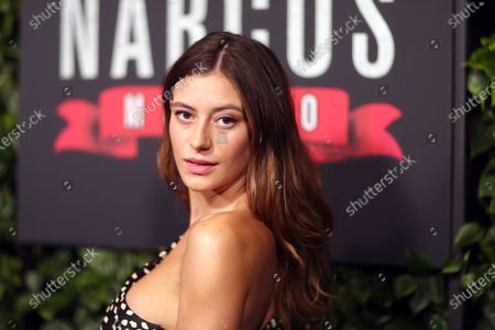 Alejandra Guilmant arrives on the red carpet prior to a special screening of Netflix's 'Narcos: Mexico Season 2' at the Netflix Home Theater in Los Angeles, California, USA, 06 February 2020.