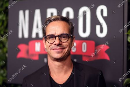 Tony Dalton arrives on the red carpet prior to a special screening of Netflix's 'Narcos: Mexico Season 2' at the Netflix Home Theater in Los Angeles, California, USA, 06 February 2020.