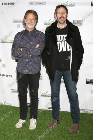 Steven Weber and Chris O'Dowd