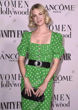 Editorial picture of Vanity Fair and Lancome Celebrate Women in Hollywood, Arrivals, Soho House, Los Angeles, USA - 06 Feb 2020