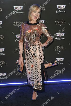 Allison Janney attends Cadillac's pre-Oscar event at Chateau Marmont, in Los Angeles