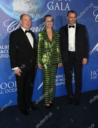 HSH Prince Albert II, Sharon Stone, Milutin Gatsby