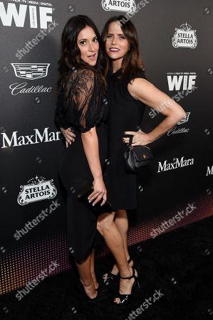 Angelique Cabral and Amy Landecker