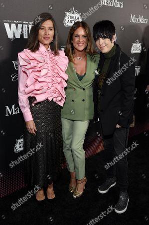 Chelsea Cohen, Cathy Schulman and Diane Warren