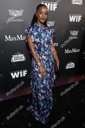 Editorial picture of 13th Annual Women in Film Oscar Party Celebration, Arrivals, Sunset Room, Los Angeles, USA - 07 Feb 2020