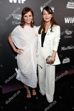 Stock Picture of Petra Costa and Joanna Natasegara