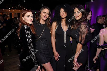 Madeline Brewer, Amy Landecker, Bahia Watson and Angelique Cabral