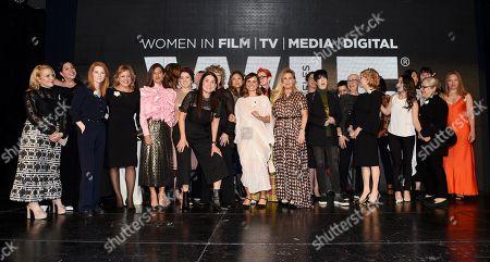 Arianne Sutner, Jayne-Ann Tenggren, Chelsea Cohen, Shannon McIntosh, Sigrid Dyekjær, Diane Warren and fellow nominees