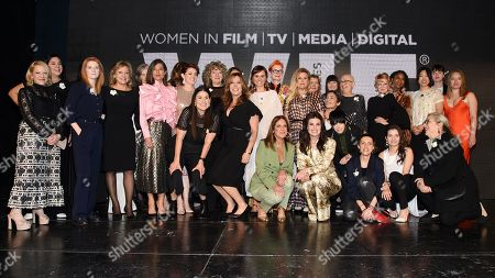 Arianne Sutner, Jayne-Ann Tenggren, Chelsea Cohen, Shannon McIntosh, Cathy Schulman, Kirsten Schaffer, Sandy Powell, Idina Menzel, Sigrid Dyekjær, Diane Warren, Vivian Baker and fellow nominees