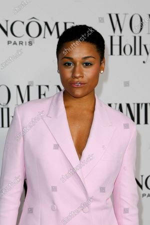 Ariana DeBose attends the Vanity Fair and Lancome Women In Hollywood Celebration at the Soho House in Hollywood, California, USA, 06 February 2020.